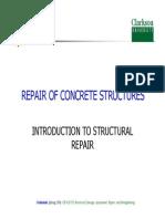 CE 555 - L25-27- Structural Concrete Repair