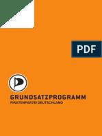 Piratenpartei Grundsatzprogramm Dezember 2012