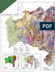 Mapa geologico da Bahia 2014