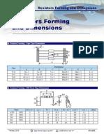 Resistor Forming Dimensions