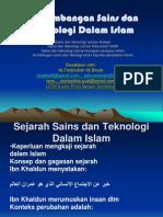 Perkembangan Sains Dan Teknologi Dalam Islam