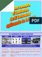 Como Compra El Gobierno de El Salvadorr