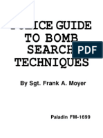 Police Guide to Bomb Search Techniques - Frank A. Moyer