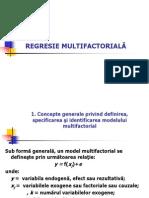 Curs 8 9Regresie Multipla