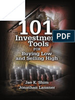 101 Investment Tools for Buying Low and Selling High