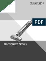 Precision Price Book- 2015