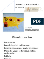 Workshop 2 Tools of Research Communication