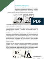 As Famílias Portuguesas