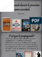 projet - la propagande durant la 1ere guerre mondiale