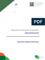 Manual Pedido de Materiales 13082013