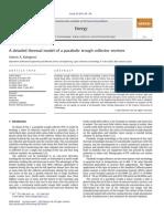 A Detailed Thermal Model So a Parabilic Trough Collector Receiver[Sosteris a Kalogirou]2012(Paper)