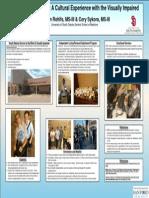 Poster Presentation - Seeing Blindness