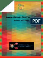 District Newsletter December 2014 (English)