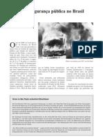 A crise na segurança pública no Brasil