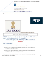New Scheme and Syllabus for the IAS Examinations _ UPSCPORTAL - India's Largest Community for IAS, CSAT, Civil Services Exam Aspirants