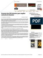 09-12-14 Presenta Hoy PRI Iniciativa Para Ampliar Extinción de Dominio — La Jornada