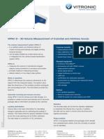 VITRONIC VIPAC D 3D Volume Measurement Cuboidal Arbitrar