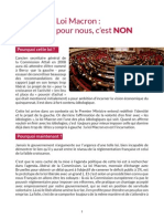 Analyse MLG Loi Macron V2