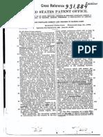 Patente Cemento Portland Impermeable