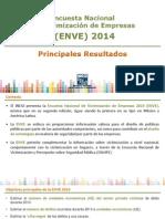 ENCUESTA NACIONAL DE VICTIMIZACIÓN DE EMPRESAS 2014