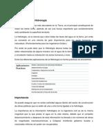 PortaFolio HIdrologia