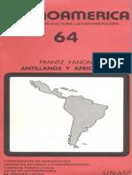 Fanon, Antillanos y Africanos