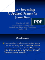 Current Cancer Screening Issues