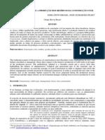 ARTIGO ÁREA 1-A Gestão Das Obras e a Produção Dos Resíduos Da Construção Civil