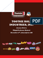 Tootsie Roll Valuation Report 2014