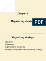 Chapter 9 Organizing Strategy