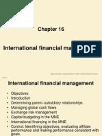 Chapter 16 International Financial Management