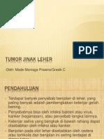 Tumor Jinak Leher