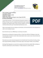 Robbery Media Release