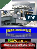 Modernizacion Del Estado Peruano
