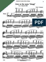 Schumann Abegg Variations Op 1 Schirmer Vogrich