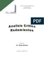 Analisis Critico Rodamiento