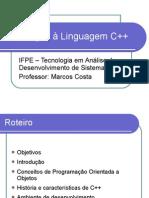 Introdução à Linguagem C++