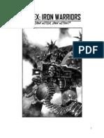 5E Iron Warriors Fan-Dex