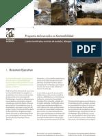 La Casa Del Escalador Proyecto de Inversion en Sostenibilidad