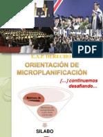 Orientación  de la organización Matris, silabos y sesión de aprendizaje OK.ppt