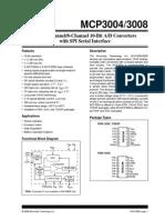 Mcp3008 datasheet
