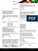 Lista 05 Geometria Molecular 3c2ba Em