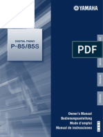 Manual Piano - p85