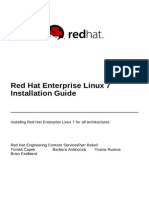 Red Hat Enterprise Linux 7 Installation Guide en US