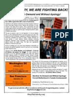 January 2015 Fact Sheet & Flier