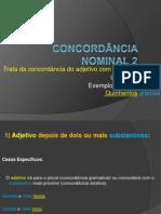 Concordância Nominal Uso e Prática