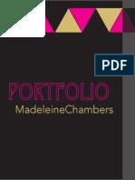 Design Portfolio Madeleine Chambers