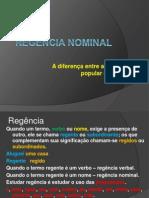 Regência Nominal Slide 2