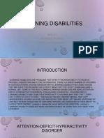 learning disabilties