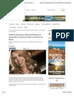 Pianista venezolana Gabriela Montero le respondió a chavista en pleno concierto en Brasil | Venezuela al Día